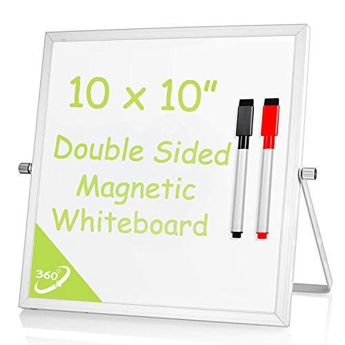 (Small Desktop Dry Erase White Board - 10x10