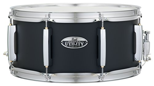 Pearl Snare Drum, Satin Black (MUS1465M227)