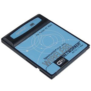 Spectrum LA-4137 802.11B Wireless LAN Wi-Fi Compact Flash CF type I Card for PDA Pocket PC. (Bulk Package/Refurbished; One year warranty)