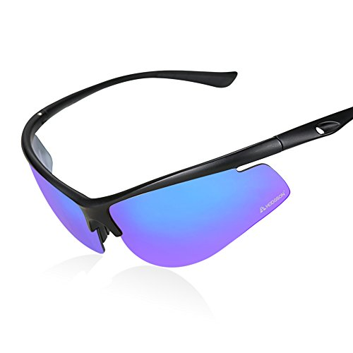 HODGSON Cycling Polarized Sunglasses for Men or Women, Extremely Light UV400 Protection Sports Glasses for Riding, Driving, Fishing, Running and Other Outdoor Activities - Lenses Hodgson Sunglasses