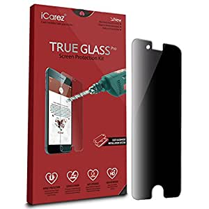 reputable site d5b11 819c6 Amazon.com: iCarez [Privacy Tempered Glass] Screen Protector for ...