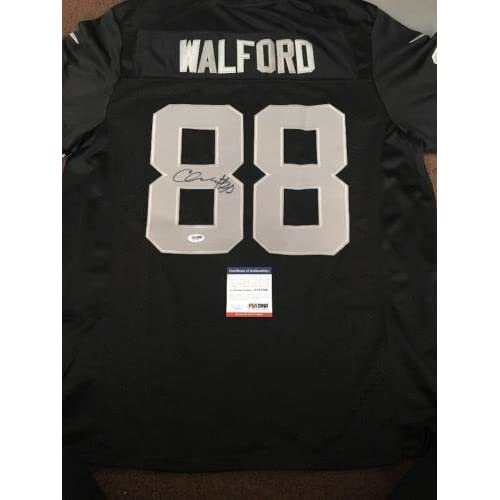 5b5a0be750b chic Signed Clive Walford Jersey - Replica COA 2 - PSA/DNA Certified -  Autographed