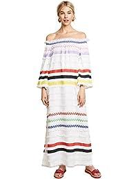 Women's Ditch Plains Fringe Maxi Dress