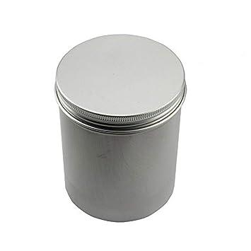 Amazon De Slcc Aluminium Aufbewahrungsboxen Metall Runde Blechdosen