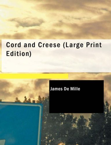 Download Cord and Creese (Large Print Edition) pdf epub