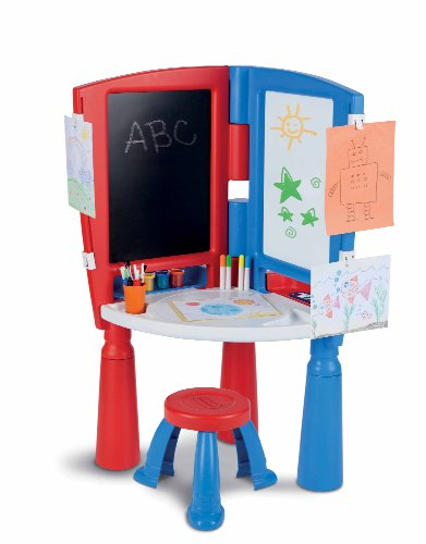 Amazon.com: Little Tikes 2-in-1 Art Desk & Easel: Toys & Games