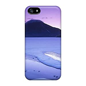 Flexible Tpu Back Case Cover For Iphone 5/5s - Winter In Akan Np Kokkaido