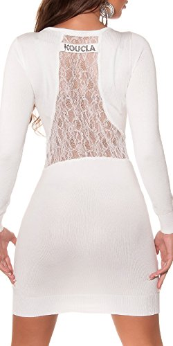 KouCla - Vestido - para mujer 4 Weiss