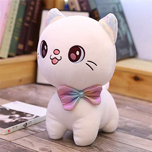 eSunny Small Soft I Big Eyes Plush Cat Toys Stuffed Lovely Animal Doll for Kids Girls Gift Soft Pillow Birthday Gift for Children Toddler Must Haves Favourite Movie Superhero Cupcake Toppers by eSunny