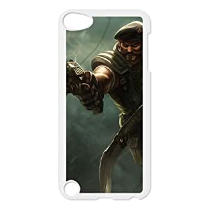iPod Touch 5 Case White League of Legends Special Forces Gangplank OIW0413282