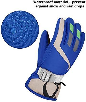 Kids Winter Snow Ski Gloves Waterproof Snowboard Gloves Boy Girl Warm Snow Mittens