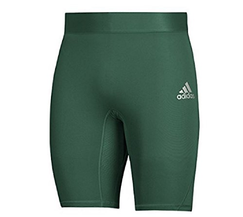 adidas Training Alphaskin Sport Short Tights, Dark Green, Medium for $<!--$21.59-->