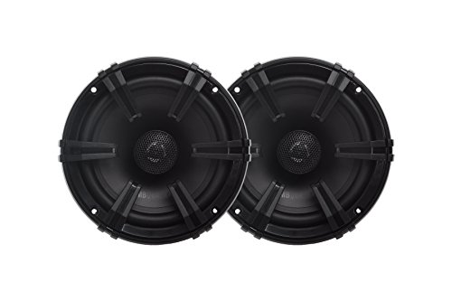 MB Quart DK1-116 Discus 2-Way Car Coaxial Speaker System with 0.75-Inch Aluminum Dome Tweeter on Silk Surround, 6.5-Inch, Set of 2 -