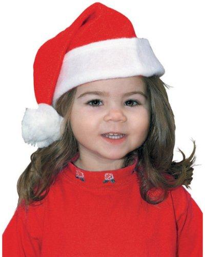 Rubie's Costume Co Toddler Classic Santa Hat Costume (Kids Santa Hat)