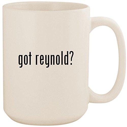 got reynold? - White 15oz Ceramic Coffee Mug Cup (The Best Of Roxy Reynolds)