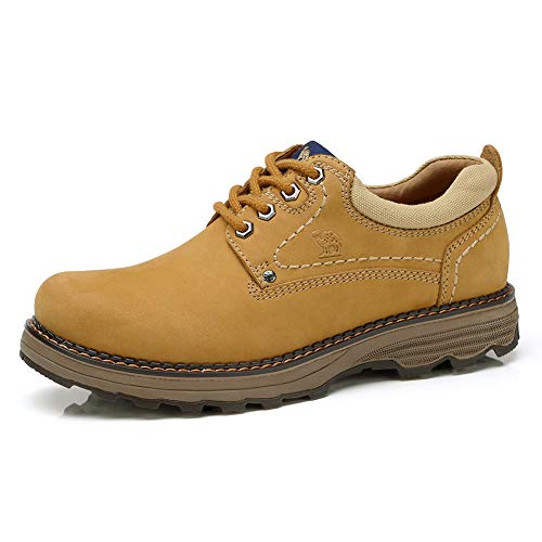 Camel Men's Uniform Work Boots Lightweight Work Shoes Casual Off-Road Cowboy by Camel
