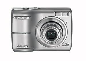 Olympus FE-170 6MP Digital Camera with 3x Optical Zoom