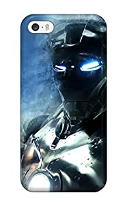 CMojCeQ8213WFHqA Tpu Case Skin Protector For Iphone 5/5s Iron Man With Nice Appearance