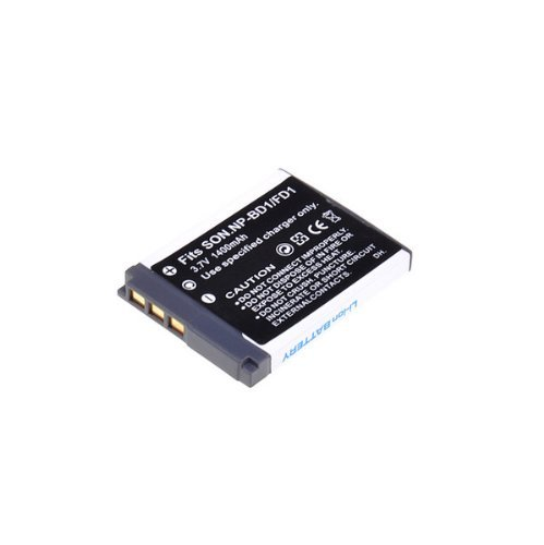 Neewer 3.7V 1400mAh Replacement Li-ion Battery for Sony NP-BD1, NP-FD1, BC-CSD, TRN, TRN-U work with Sony Cyber-shot DSC-G3, DSC-T2, DSC-T70, DSC-T75, DSC-T77, DSC-T90, DSC-T200, DSC-T300