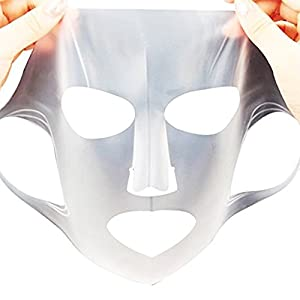OR Pure Reusable Silicon Mask Preventing Evaporation of the Essence of Mask Steam Mask (1-PCS)