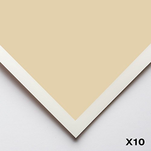 Art Spectrum : Colourfix Smooth : Pastel Paper : 50x70cm : Sand : Pack of 10 by Art Spectrum