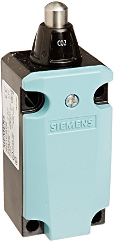 - Siemens 3SE5 112-0CC02 International Limit Switch Complete Unit, Round Plunger, 40mm Metal Enclosure, High Grade Steel Plunger, 3mm Overtravel, Snap Action Contacts, 1 NO + 1 NC Contacts