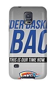 Cute High Quality Galaxy S5 Oklahoma City Thunder Basketball Nba Case