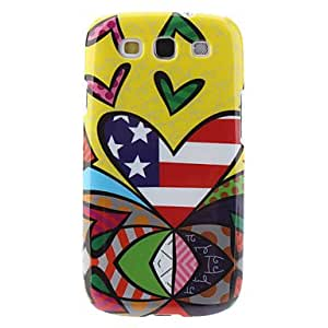 Flag Pattern Hard Case for Samsung Galaxy S3 I9300