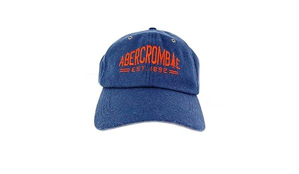 Abercrombie & Fitch - Gorra de béisbol - para hombre azul azul ...