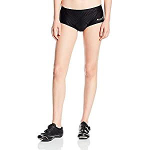 Baleaf Women's 3D Padded Coolmax Bicycle Cycling Underwear Shorts, Black, Large