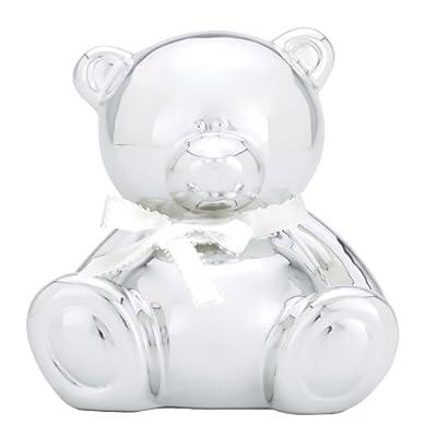 C. R. Gibson Ceramic Piggy Bank, Teddy Bear