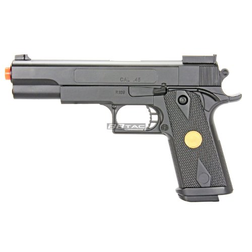BBTac P169 Airsoft Gun 260 FPS Spring Pistol Handgun with Functional Safety and Reinforced Material ()