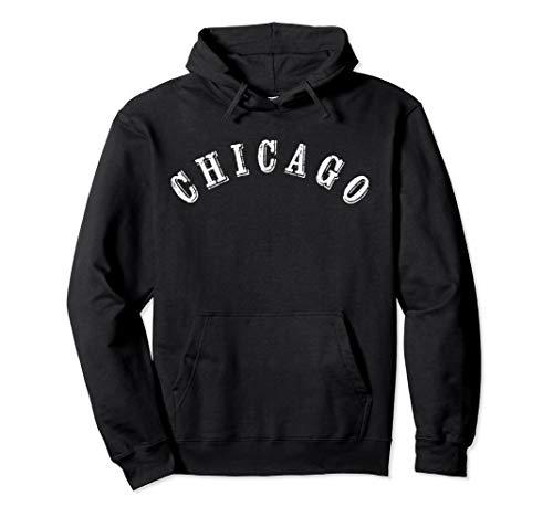 Chicago Hoodie Chi Town Windy City Illinois Work Sweatshirt