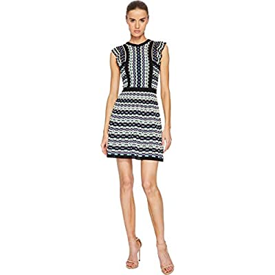 M Missoni Women's Colorful Check Dress: Clothing