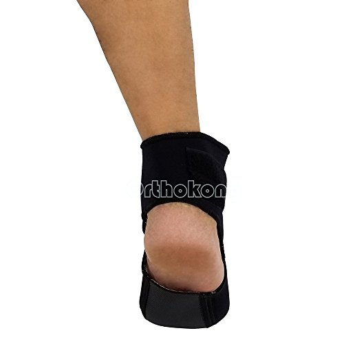 Plantar FXT Night Splint Black Night Time Relief for Plantar Fasciitis Medical Ankle Support Treat Heel Pain Best Foot Pain Relief Orthosis Healthcare Products (Medium) by Orthokong (Image #3)