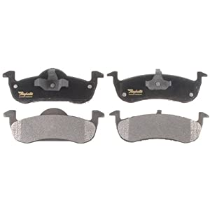 Raybestos ATD1279M Advanced Technology Semi-Metallic Disc Brake Pad Set