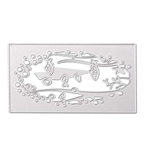 3D Metal Die Cutting Stencil for DIY Scrapbooking Album Paper Card from VESNIBA