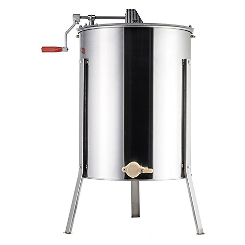Tek Motion 4-Frame Large Stainless Steel Honey Extractor SS Beekeeping Equipment by Tek Motion (Image #7)