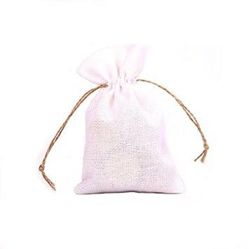 50unids/Pack Bolsas de Caramelo de Yute Cumpleaños Fiesta de ...