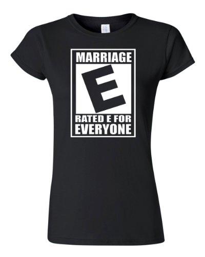 Ptshirt.com-19398-City Shirt Women\'s Junior Rated Marriage Is For Everyone T-Shirt Tee-B00DPQUD4E-T Shirt Design