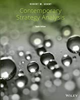 Contemporary Strategy Analysis, 10th Edition Front Cover