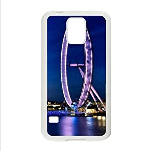 Beautiful Design,London Eye Good Quality Samsung Galaxy S5 TPU (Laser Technology) Case, Cell Phone Cover