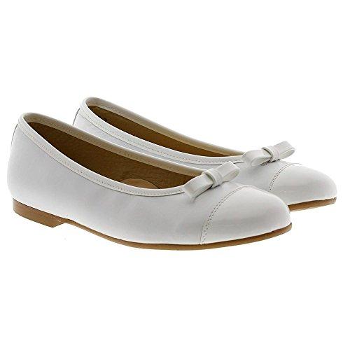 CLARYS Zapatos Niña Comunión 5590 Blanco
