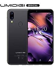 "UMIDIGI A3 Unlocked Phones with 5.5"" Screen 16GB+2GB Ram Android 9.0- Triple Slot, 2 NanoSIMs+Micro-SD 12MP + 5MP Dual Camera Fingerprint ID 3300mAh Battery Unlocked Smartphones -Space Gray"
