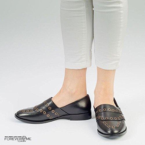Me Love Jenny Black Forever Loafer Flat wnFx5q