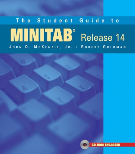 The Student Guide to MINITAB Release 14