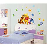 Winnie the Pooh friends wall stickers for kids rooms nursery wall stickers decorative stickers