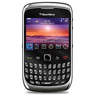 BlackBerry Curve 3G 9300 Black WiFi Unlocked QuadBand Cell Phone