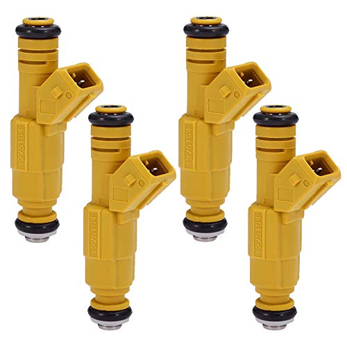Dade 4 X Upgrade Fuel Injectors 0280155746 Compatiable with BOSCH TYPE III Jeep 4.0L 19LB EV1