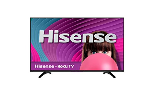 Hisense 50H4C 50-Inch 1080p Roku Smart LED TV (2016 Model) (A Different World Netflix Out Of Order)